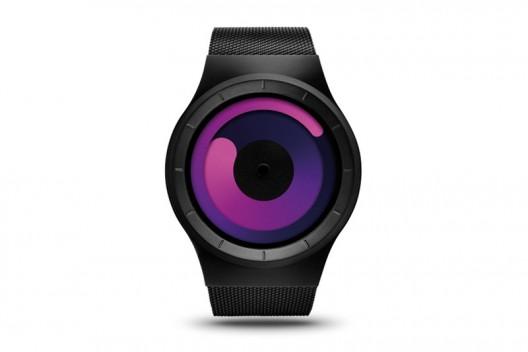 Model Ziiiro Mercury Black is a quartz watch which runs Japanese Miyota 1L-26 mechanism