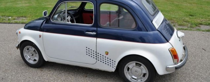 Add A 1972 Fiat 500 To Your Collection