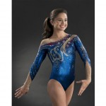 GK's Leotard With Swarovski Elements To Celebrate USAG's 50th Anniversary