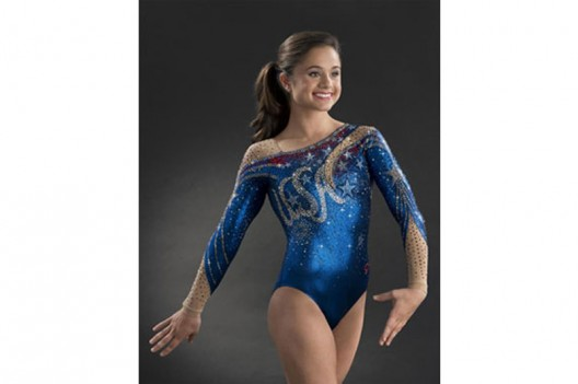 GK Designs $5,000 Couture Leotard for USA Gymnastics 50th Anniversary