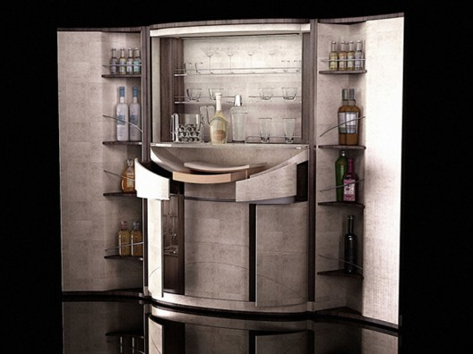 Linley's Tectonic bar opens with a Bond styled secret button