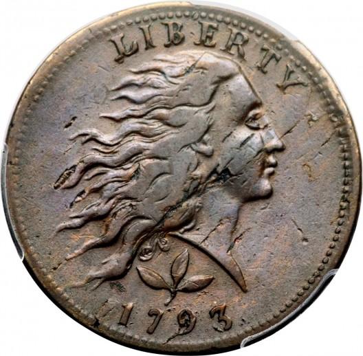 1793-1C-Wreath,-Vine-and-Bars