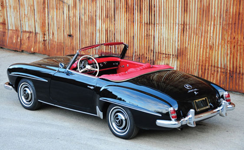1960 Mercedes Benz 190sl Roadster On Auctions America
