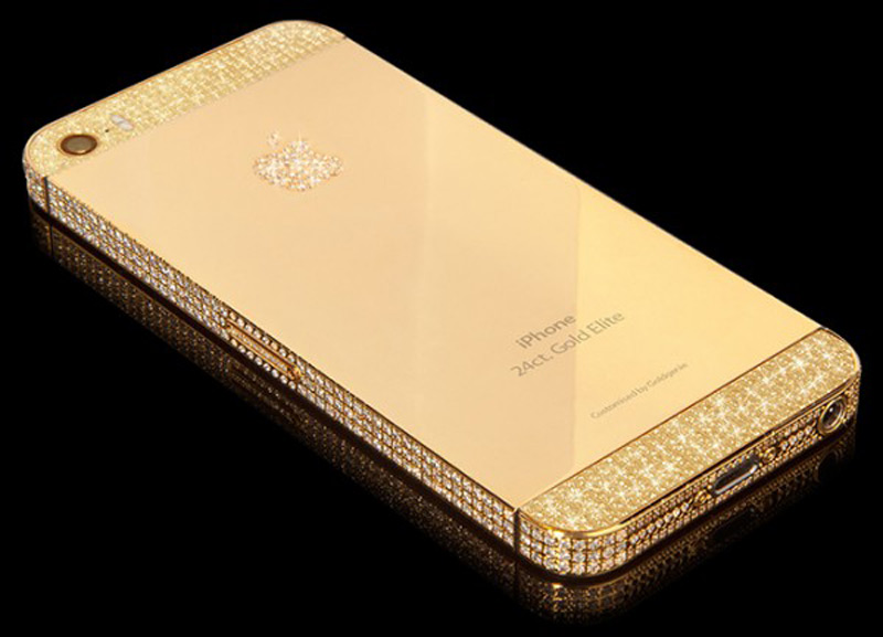 Goldgenie unveils 24 CT Gold iPhone 5S collection