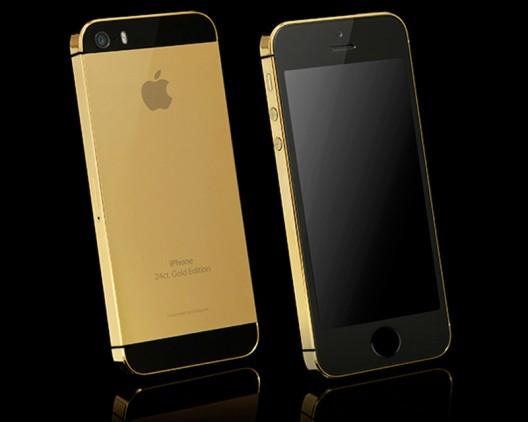 Goldgenie unveils 24 CT Gold iPhone 5S collection