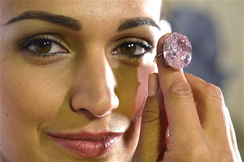 Who has $60 million to buy The Pink Star diamond?