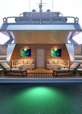 Gulf Craft Unveils Exciting New Interior Design Concept for the Majesty 155 at the Monaco Yacht Show
