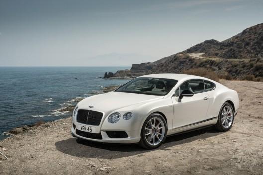 World Premiere of New Bentley GT V8 S in Frankfurt