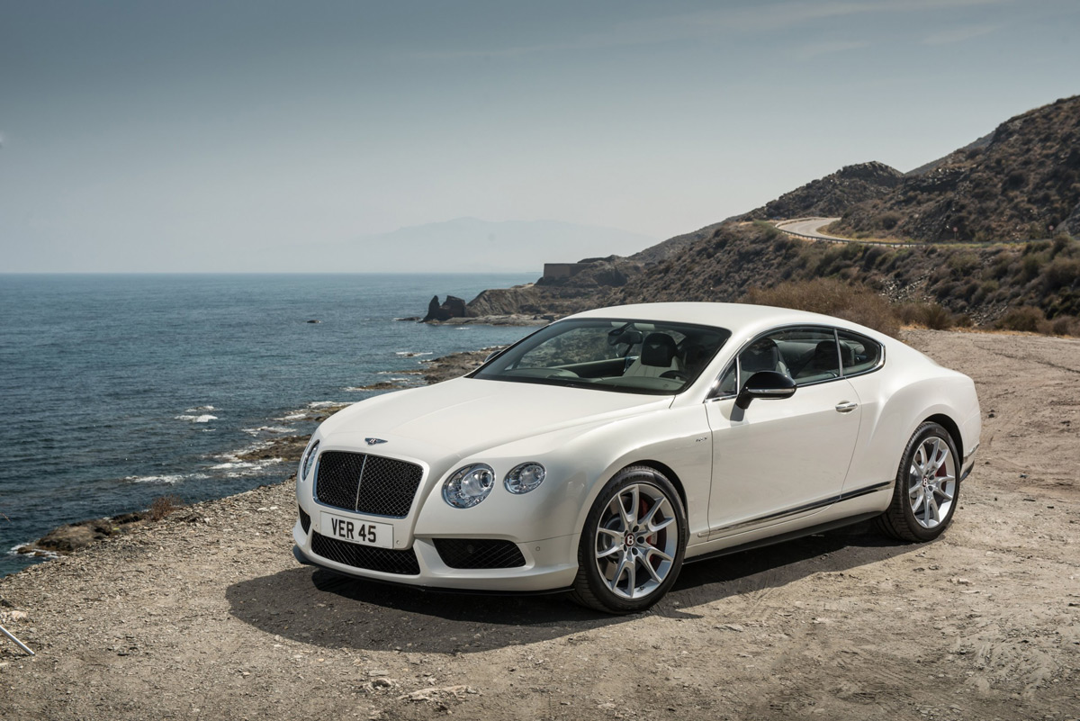 World Premiere of New Bentley GT V8 S in Frankfurt