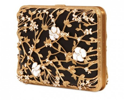 Alexander McQueen Bible Book Rigid Clutch is available at Luisa Via Roma