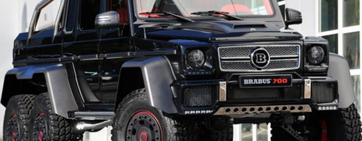 Brabus B63S-700 6x6 On Frankfurt Motor Show