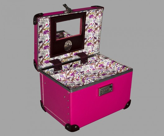 Globe-Trotter unveils limited edition Candy colored luggage for the holiday season