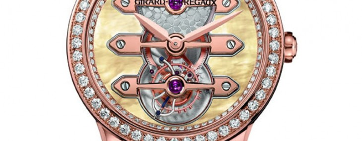 Girard-Perregaux's Tourbillon Three Gold Bridges oozes opulence with its Lady version
