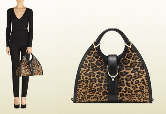 Gucci jaguar print bags for fashionistas on the prowl