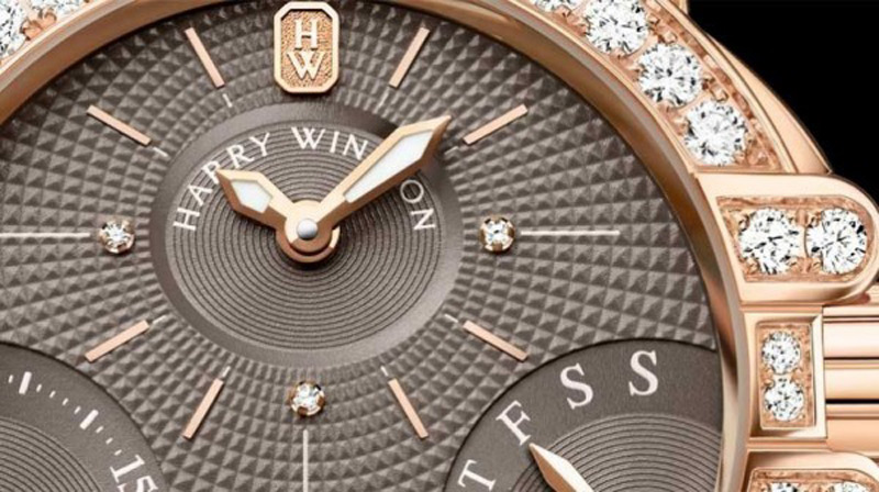 New studded dials for Harry Winston's Ocean Biretrograde