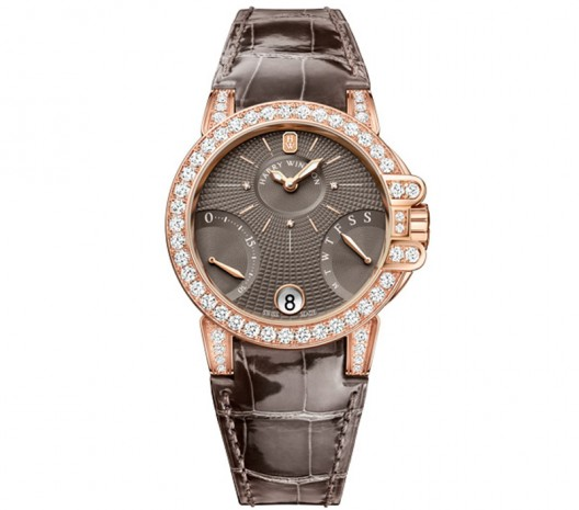 New studded dials for Harry Winston's Ocean Biretrograde