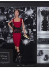 Barbie Gets a New Sexy Look – Hervé Léger by Max Azria