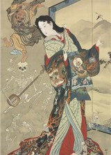 Lost Japanese Hanging Scroll-painting Rediscovered in a Drawer at Christie's London