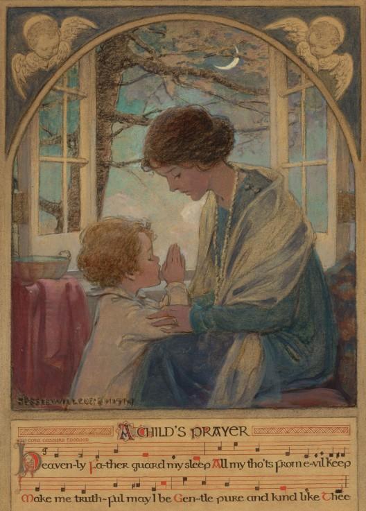 Jessie-Willcox-Smith-A-Child's-Prayer
