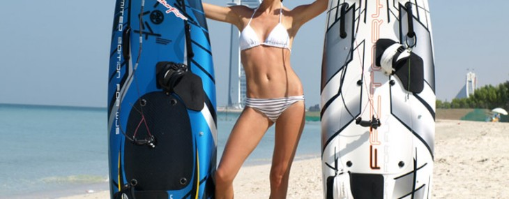 JetSurf Board – Carbon Fibre Board Powered by 100cc Engine