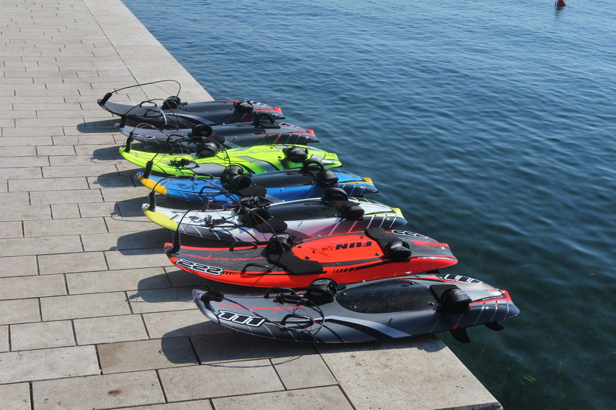 Jetsurf Board Carbon Fibre Board Powered By 100cc Engine
