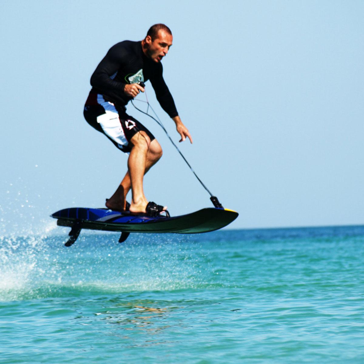 Surf Balance Board Nz: Carbon Fibre Board Powered By 100cc Engine