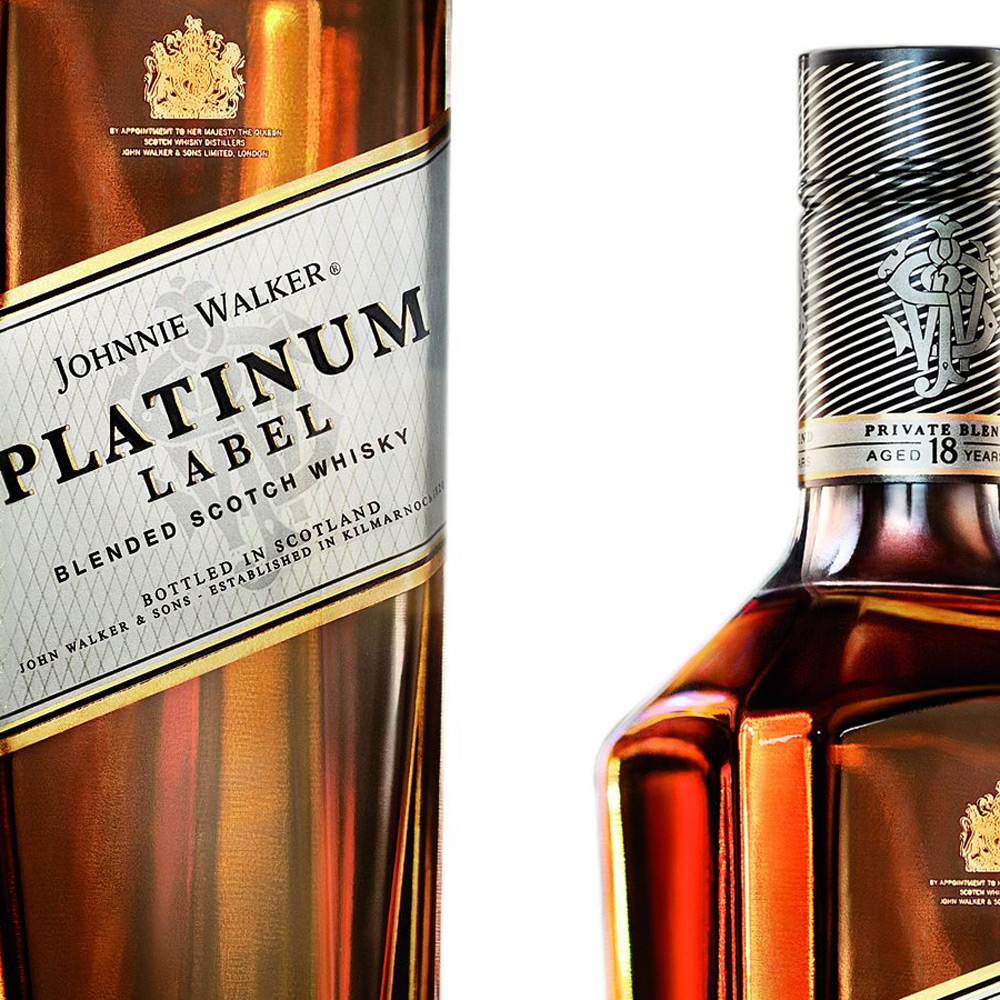 Johnnie Walker Unveils Exclusive Platinum Label Scotch Whisky