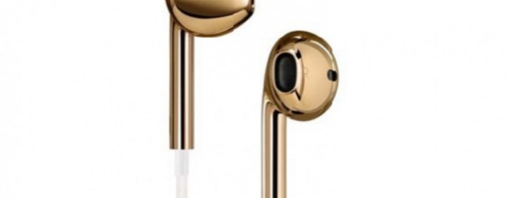 Jony Ive Creates Solid Gold EarPods for (RED) Charity Auction