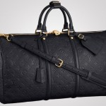 Keepall 45 Bandoulière – New Addition of Louis Vuitton's Monogram Empreinte Collection