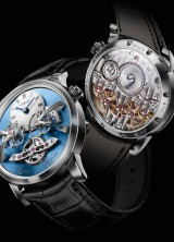 MB&F New Legacy Machine No.2 Watch with Two Balances