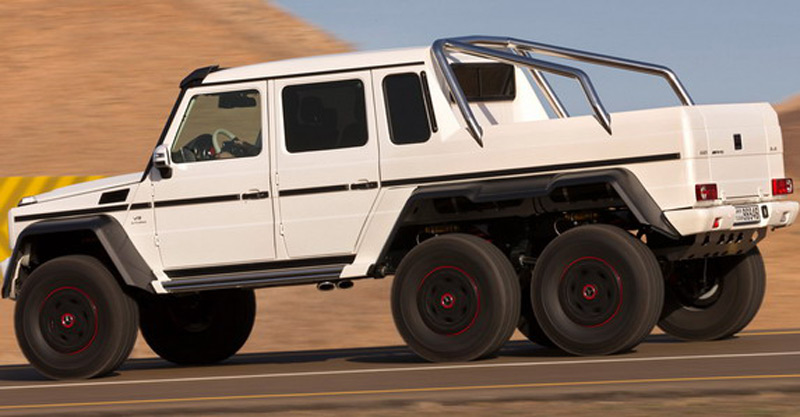 Mercedes benz g63 amg 6x6 will cost 610 000 extravaganzi for Mercedes benz g63 amg 2013 price