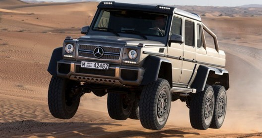 Mercedes-Benz G63 AMG 6x6 Will Cost $610,000