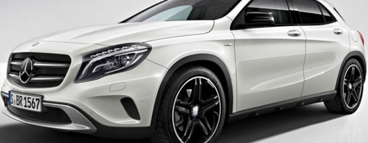 Mercedes has presented a serial GLA at the Motor Show in Frankfurt, and already appeared its Edition 1 series that will be offered in a limited edition