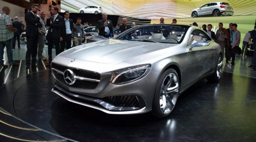 Mercedes S-Class Coupe Concept At Frankfurt Motor Show