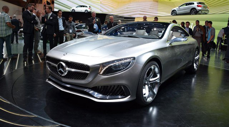 mercedes s class coupe concept at frankfurt motor show extravaganzi. Black Bedroom Furniture Sets. Home Design Ideas
