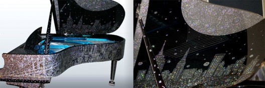 Piano Solutions XXI Launches Million Dollar Jeweled Piano