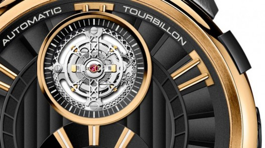 Perrelet manufactures has unveiled new tourbillon model from its Black & Gold Collection watches