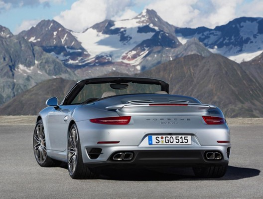 Porsche's most powerful Cabriolet, the 911 Turbo and Turbo S unveiled