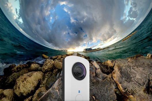 Capture Your World With 360-Degree Panoramic Ricoh Theta Camera