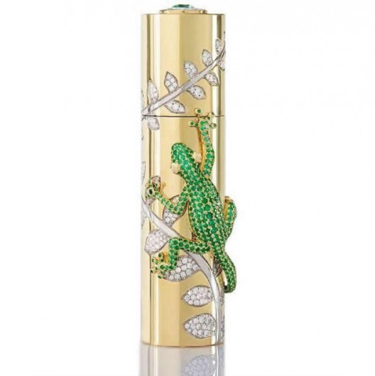 House of Sillage debuts limtied edition travel spray in a diamond encrusted solid gold case for $118,000