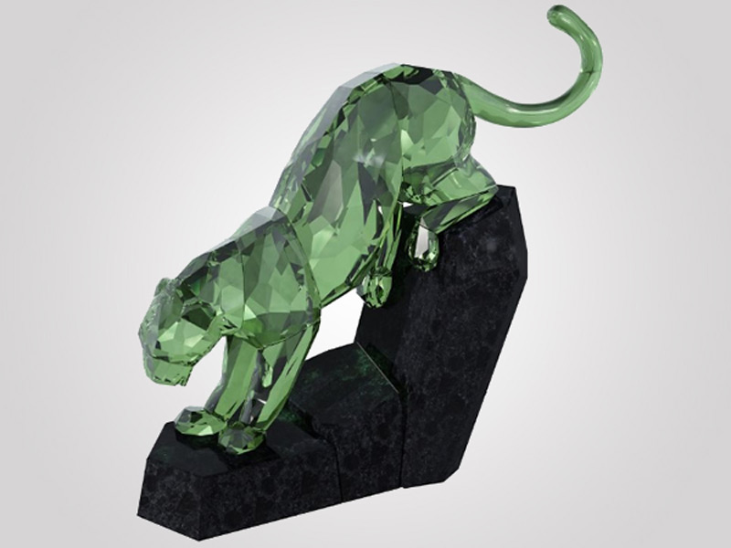 Swarowski launches the Eclectic Panther in Green Tourmaline