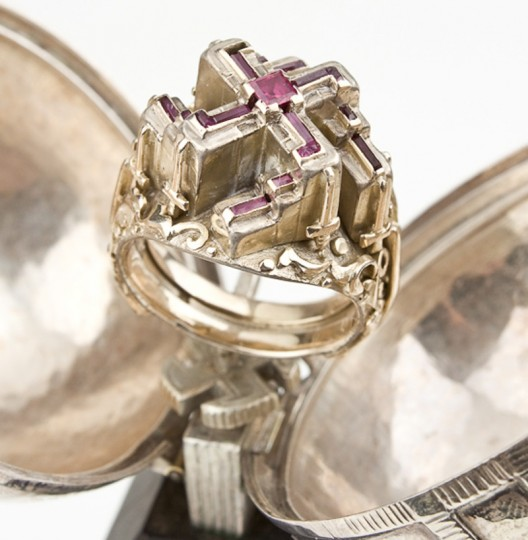 Adolf Hitler's swastika ring goes up on auction for $100,000