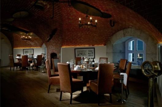150 year old British naval fort converted into a luxury hotel