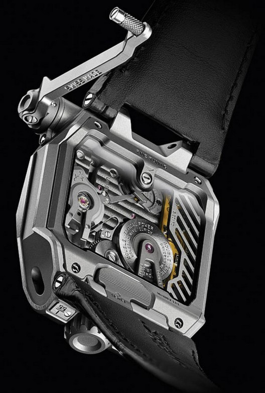 The interesting Urwerk EMC Watch
