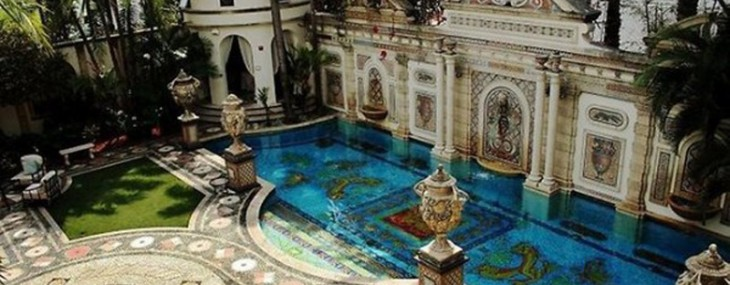 Versace's tragic Miami mansion set for auction