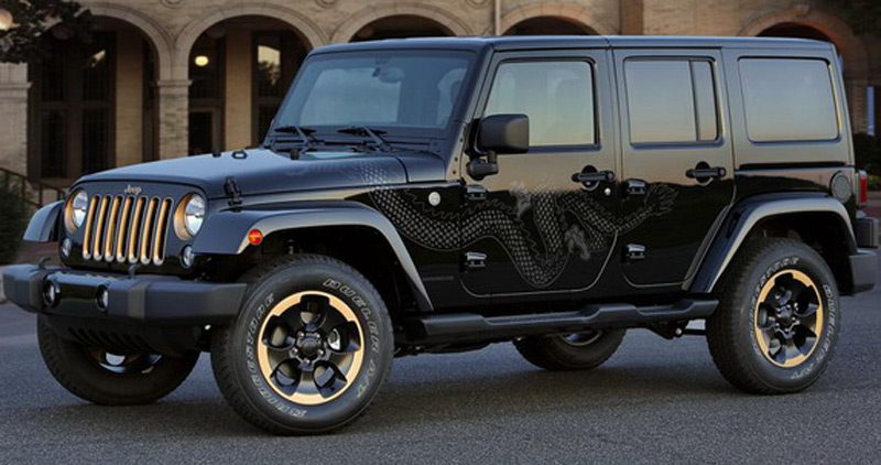 2014 jeep wrangler dragon edition extravaganzi. Black Bedroom Furniture Sets. Home Design Ideas