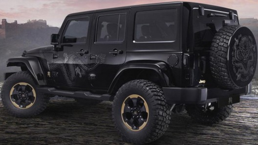2014 Jeep Wrangler Dragon Edition will be on sale in the U.S market this fall at a price of 36.095 dollars.