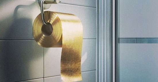 Who Will Buy The $1.3 million Gold Toilet Paper Roll