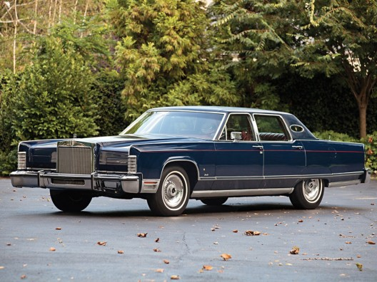 a wonderful survivor of its time, a 1977 Lincoln Continental Town Car