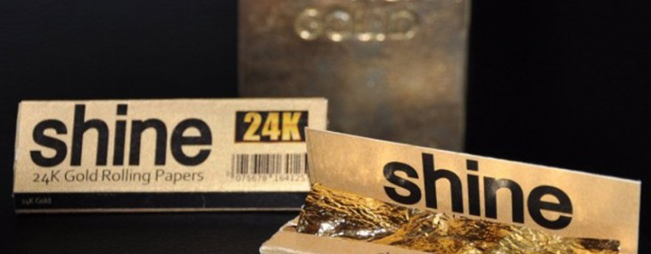 You Have Money to Burn? Smoke a Cigarette Rolled in 24K Gold Papers